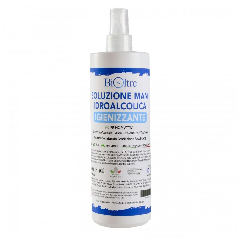 Bioltre - Soluzione Idroalcolica Igienizzante Spray